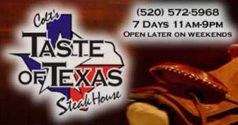 Taste Of Texas Steakhouse