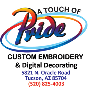 A Touch Of Pride Custom Embroidery