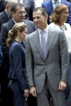 Princess Letizia of Spain, Prince Felipe of Spain