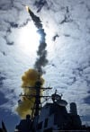 Raytheon ship-defense missile passes key test