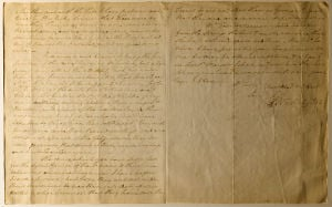 Photo of the day: George Washington letter