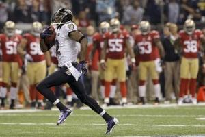 Super Bowl XLVII: Ravens 34, 49ers 31: Ravens pull plug on 49ers' rally