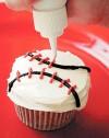 Yo! Batter up! Cupcakes for baseball season