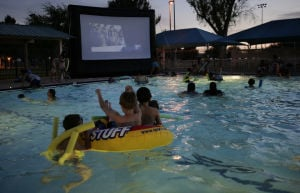 Dive-In movie at Ott Family YMCA tonight
