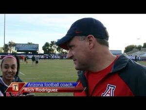 Watch: RichRod on Territorial Cup matchup