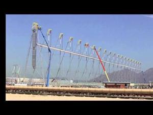 Time Lapse: Solar Receiver Installation