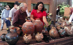 Photos: Pottery sale