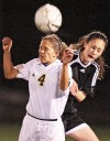 Vallery's goal gives Cabs first title in girls soccer