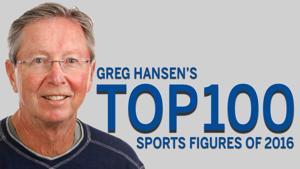 Greg Hansen's Top 100 Sports Figures of 2016