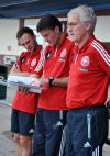 Soccer: Veteran Danish coach earns 'deep respect'