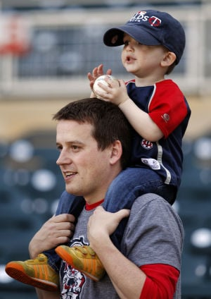 Photo of the day: A father-son moment