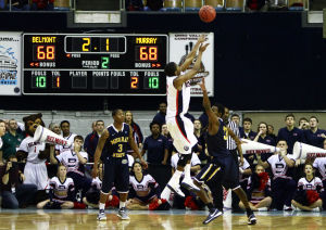 NCAA tournament: Arizona foe Belmont has small lineup, big-time shooters