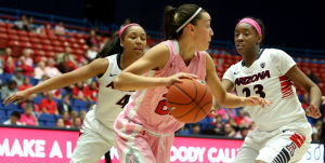 Photos: Arizona vs Utah women's college basketball