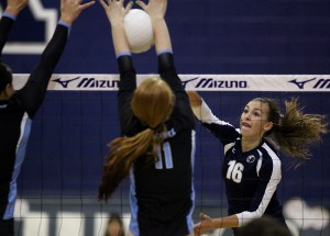 HS girls volleyball: Nighthawks earn top seed in state tournament