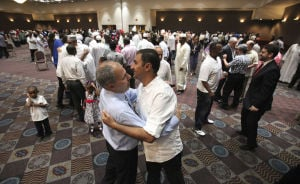 Photos: Eid Al-Fitr, end of Ramadan