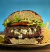 Break away from blasé burger blues by tucking surprise inside meat patty