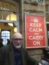 A bit of history, 'Keep calm and carry on' now fuels feud