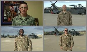 Southern Arizonans serving overseas send video greetings