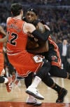 NBA Bulls 101, Heat 97 Closing push can't save streak
