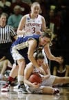 women's NCAA tournament Freshman gives boost
