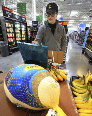 'Walmart's Warhol' paints at Tucson store