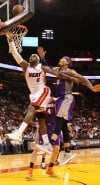 NBA Heat 124, Suns 99 Better defensive effort leads to hotter offense