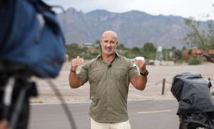 Photos: Weather Channel's Jim Cantore tracks strom from Tucson