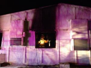 Tucson church damaged by fire