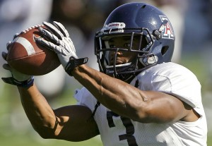 Arizona football: RB Jenkins hopes to seize the moment