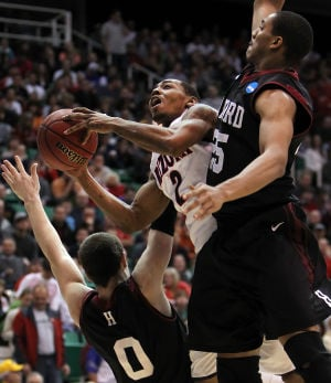 Photos: Arizona vs. Harvard in NCAA Tournament