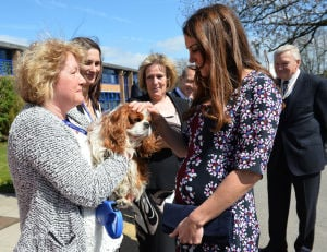 Duchess of Cambridge launches school program