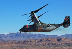 Osprey successfully test-fires Raytheon missiles