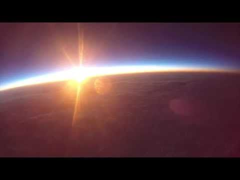 Watch: A sunrise from the edge of space