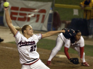 Photos: UA sports Throwback Thursday Jennie Finch