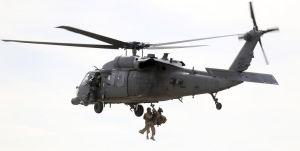 Practicing combat rescues