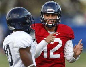 Solomon gets first crack as UA QB