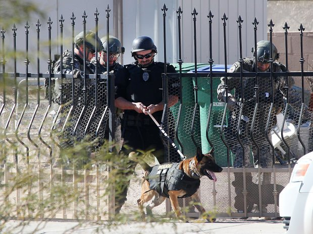 Photos: SWAT situation in S. Tucson
