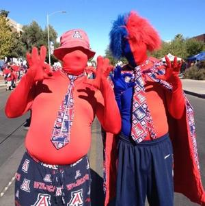 Pregame madness: The best from today's UA-ASU game
