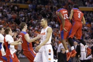 Photos: Upsets from the first weekend of the NCAA Men's Basketball Tournament