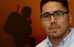 Wounded Iraq veteran still serves as social worker