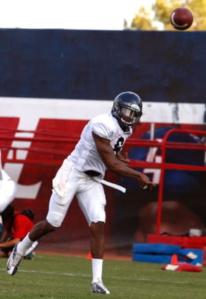 UA football: Randall, Scroggins working through problems
