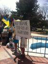 Downtown Ukraine Protest