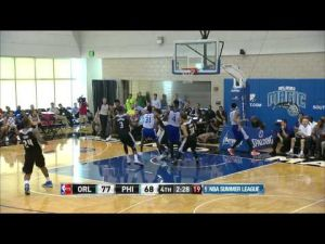 Ex-Cat Gordon soars for NBA Summer League block