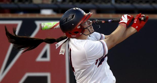 Arizona softball: Wildcats hit three homers, shut out Stanford