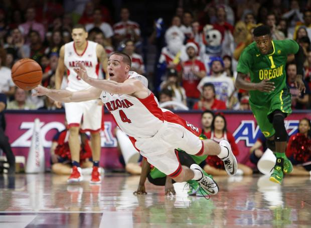 Photos: No. 6 Arizona 90, Oregon 56