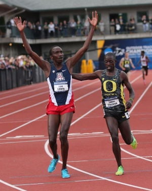 NCAA track: Arizona's Lalang wins 5,000 meters