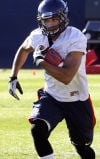 Arizona football: Hill works to improve all skills for '13 season
