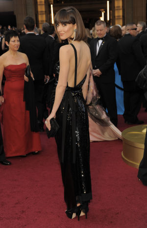 Daring 2012 Oscar fashion, wilder party wear