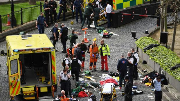 PHOTOS: Attack on Parliament in London