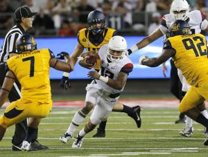 UA football: Arizona trailing Cal 28-6 at halftime